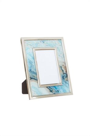 Coincasa κορνίζα με χρωματιστό γυάλινο πλαίσιο 23 x 18 cm