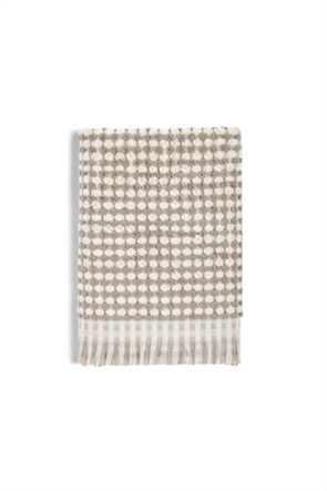 Coincasa πετσέτα χεριών δίχρωμη με ξέφτια 40 x 60 cm