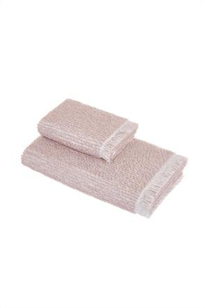 Coincasa πετσέτα χεριών με κρόσσια στο τελείωμα 40 x 60 cm