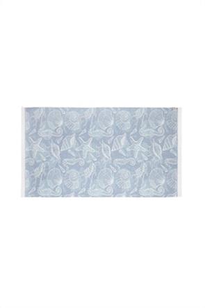 Coincasa πετσέτα θαλάσσης με shells print 170 x 90 cm