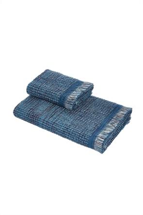 Coincasa πετσέτα προσώπου βαμβακερή με κρόσσια 100 x 60 cm