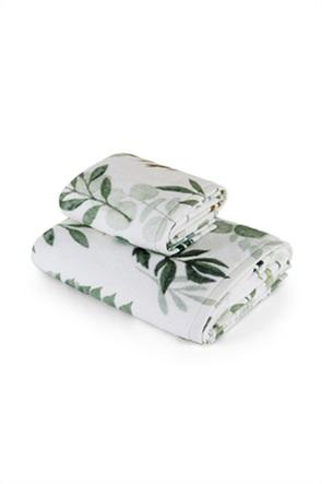 Coincasa πετσέτα χεριών με floral print 60 x 40 cm