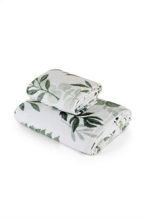 Coincasa πετσέτα προσώπου με floral print 100 x 60 cm