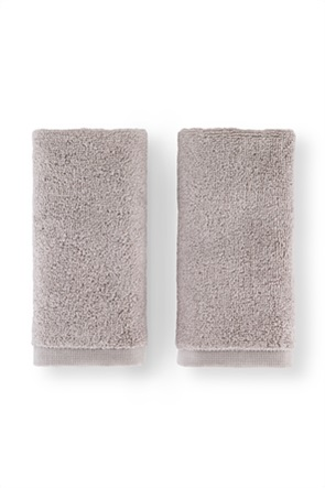 Coincasa σετ πετσέτες χεριών μονόχρωμες (2 τεμάχια)