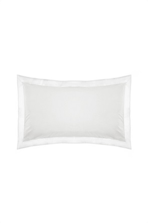 Coincasa μονόχρωμη μαξιλαροθήκη με φάσα 50 x 80 cm