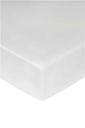 Coincasa διπλό σεντόνι μονόχρωμο με λάστιχο 160 x 200 cm (1 τεμάχιο)