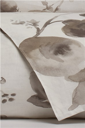 Coincasa λινή παπλωματοθήκη με floral print  220 x 240 cm