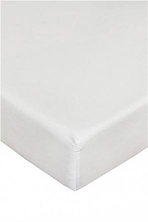 Coincasa σεντόνι σατέν μονόχρωμο με λάστιχο 180 χ 210 cm