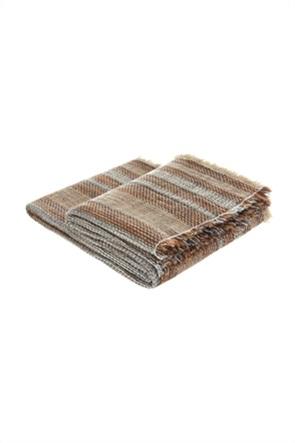 Coincasa κουβέρτα με σχέδιο στηv πλέξη 130 x 170 cm