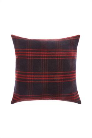 Coincasa διακοσμητικό μαξιλάρι καρό 45 x 45 cm