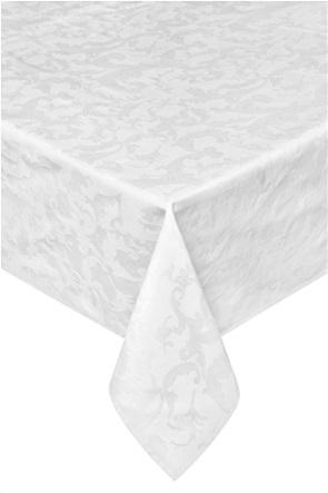 Τραπεζομάντηλο λευκό με σχέδιο 140 x 180 cm Coincasa