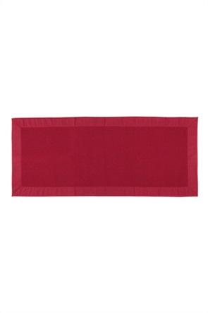 Σουπλά Zefiro κόκκινο με ribbed σχέδιο 120 x 50 cm Coincasa