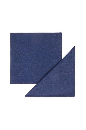 Coincasa σετ πετσέτες με μεταλλικές ίνες (2 τεμάχια)
