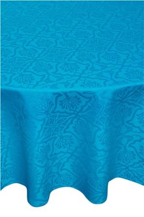 Coincasa σετ τραπεζομάντηλο στρογγυλό και πετσέτες με ton-sur-ton print