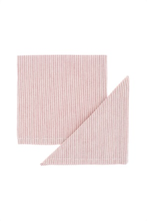 Coincasa σετ πετσέτες με ριγέ σχέδιο (2 τεμάχια)
