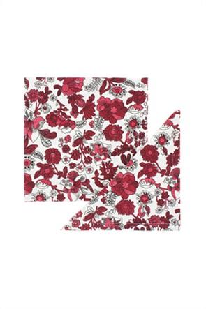 Coincasa σετ πετσέτες με all-over floral print (2 τεμάχια)