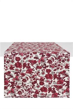 Coincasa runner με all-over floral print 40 x 140 cm