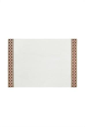 Coincasa σουπλά με geometrical print 48 x 33 cm
