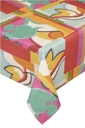 """Coincasa τραπεζομάντιλο με multicolour print """"Peggy"""" 200 x 140 cm"""