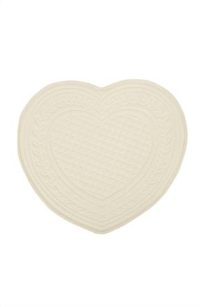 Coincasa σουπλά με σχέδιο καρδιά 40 cm