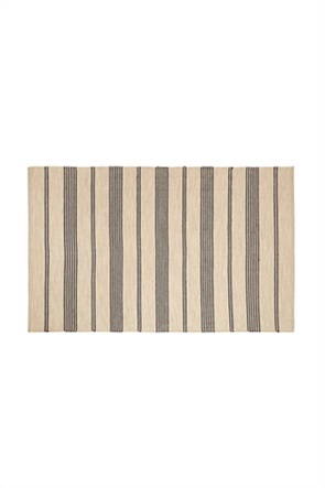Coincasa χειροποίητο βαμβακερό χαλί με ρίγες 150 x 210 cm