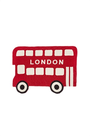 "Coincasa παιδικό χαλί σε σχήμα λεωφορείου ""London"" 65 x 100 cm"