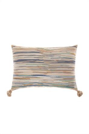 Coincasa διακοσμητικό μαξιλάρι πολύχρωμο ριγέ 55 x 35 cm