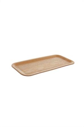 Coincasa διακοσμητικός ξύλινος δίσκος 11 x 23 cm