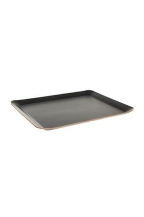 Coincasa διακοσμητικός ξύλινος δίσκος 34 x 25 cm