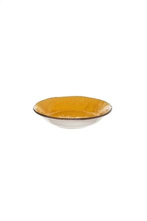 Coincasa χειροποίητο κεραμικό βαθύ πιάτο χρωματιστό 21 cm