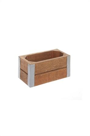 Coincasa διακοσμητικό ξύλινο κουτί 20 x 10 x 10 cm