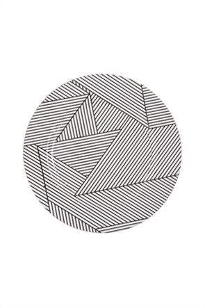 Coincasa σουπλά φαγητού με γεωμετρικό σχέδιο 33 cm
