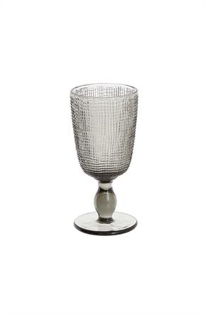Coincasa γυάλινο ποτήρι νερού απο χρωματιστό γυαλί 8 x 16,5 cm