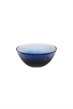 Coincasa γυάλινο μπολ σερβιρίσματος με χρωματισμένο γυαλί 15 cm