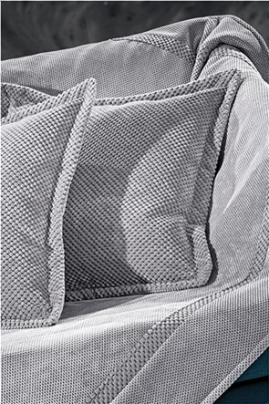 Guy Laroche διακοσμητική μαξιλαροθήκη ''Rubicon Grey'' 42 x 42 cm