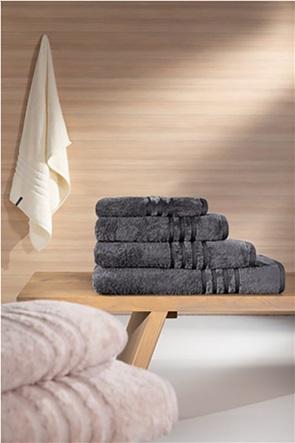 "Guy Laroche πετσέτα χεριών με ανάγλυφο σχέδιο ""Bonus Anthracite"" 30 x 50 cm"