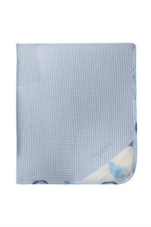 Guy Laroche βρεφική πικέ κουβέρτα με κεντημένο λογότυπο ''Dream'' 110 x 150 cm