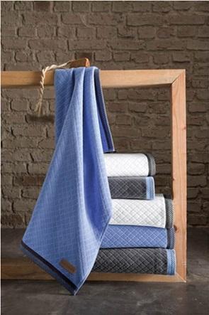"Guy Laroche πετσέτα προσώπου ""Nena Anthracite"" 50 x 90 cm"
