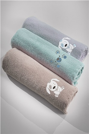 "Guy Laroche βρεφική κουβέρτα ""Baby Bear Mint"" 100 x 140 cm"