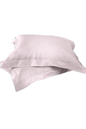 """Guy Laroche σετ μαξιλαροθήκες oxford με κεντημένο logo """"Silky"""" (2 τεμάχια)"""