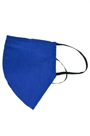 "Synchronia μάσκα προστασίας υφασμάτινη (L) ""Blu Royal"""