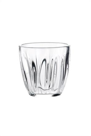 "Guzzini ποτήρι νερού με ανάγλυφο σχέδιο ""Aqua"" 9 x 9 cm"