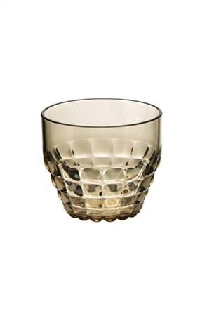 "Guzzini ποτήρι με ανάγλυφο σχέδιο ""Tiffany"" 8 x 9 cm"