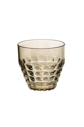 "Guzzini ποτήρι με ανάγλυφο σχέδιο ""Tiffany"" 9 x 13 cm"
