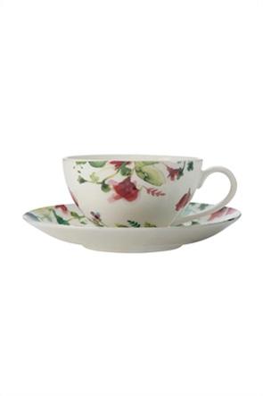 Maxwell & Williams σετ φλυτζάνι καφέ με πιατάκι και floral σχέδιο ''Primavera'' 250 ml