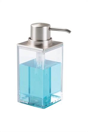 Interdesign δοχείο υγρού σαπουνιού ''Clarity'' 295 ml