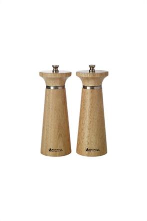 Maxwell & Williams σετ μύλοι πιπεριού και αλατιού ξύλινοι ''Oslo'' (2 τεμάχια)