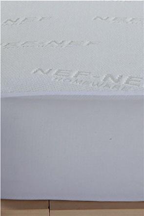 NEF-NEF μονό προστατευτικό κάλυμμα στρώματος αδιάβροχο 100 x 200 + 30 cm