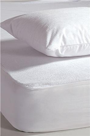 NEF-NEF αδιάβροχο προστατευτικό στρώματος πετσετέ διπλό 140 x 200 + 30 cm