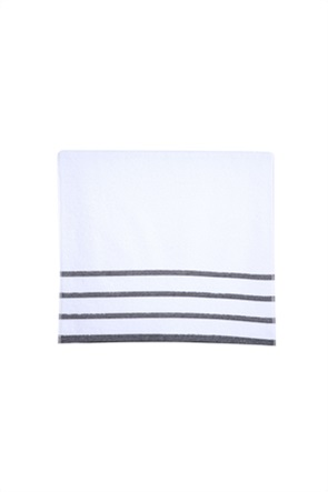 NEF-NEF σετ πετσέτες μπάνιου με ριγέ σχέδιο (3 τεμάχια)